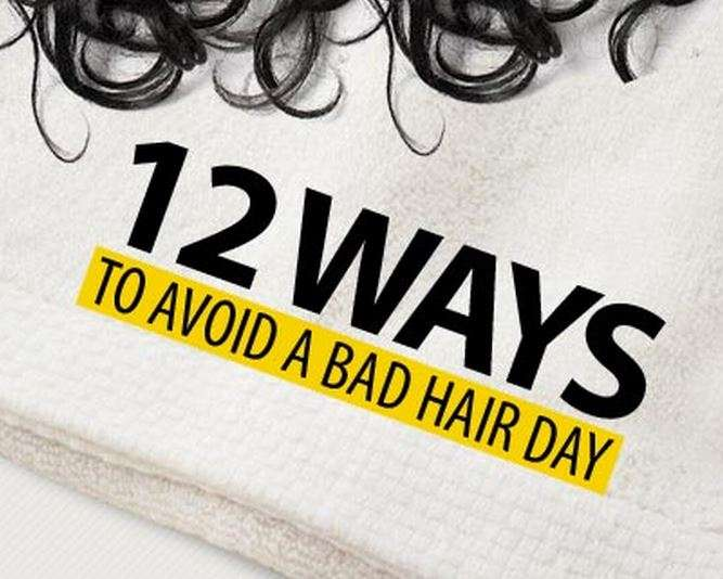 12 ways to avoid a bad hair day